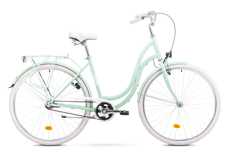 ROMET ANGEL 28 ZAĻŠ (AR) 1828325 19L VELOSIPĒDS Pilsētas velosipēds
