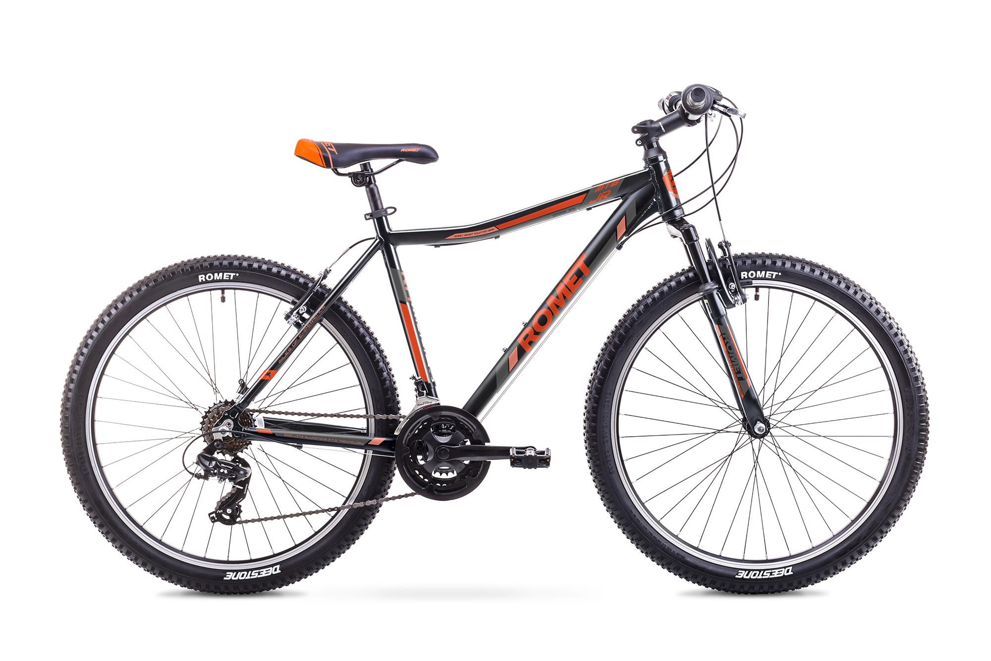ROMET RAMBLER JR 26 (AR) 1726737-19L MEL/ORANŽŠ VELOSIPĒDS kalnu velosipēds MTB