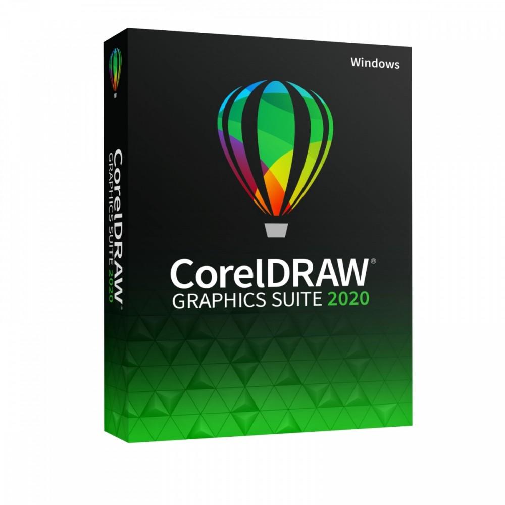 CorelDRAW GS 2020 PL/CZ Box DVD CDGS2020CZPLDP