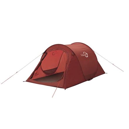 Easy Camp Fireball 200 Tent, Burgundy Red 5709388102140 telts Kempingiem, pārgājieniem