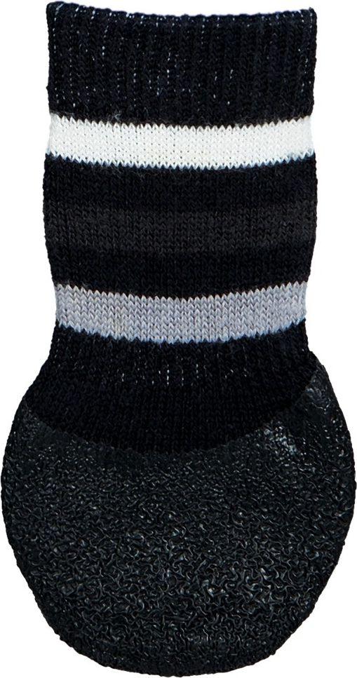 Trixie Dog Socks non-slip S-M 2 pcs. Black