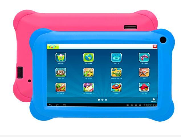 Denver TAQ-90072 9/8GB/1GBWI-FI/ANDROID8.1/Blue/Pink Planšetdators