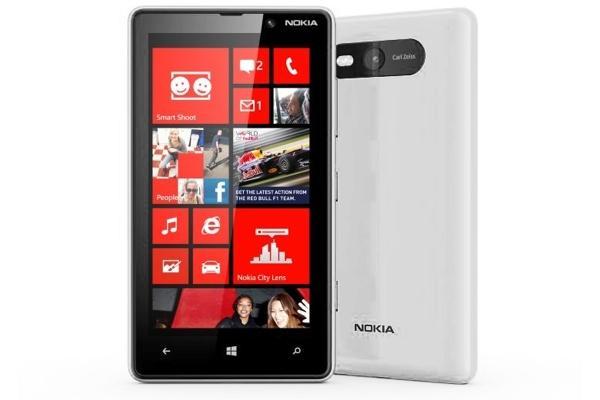 Nokia 820.1 Lumia white Windows Phone Used (grade:A) 9902941029199 T-MLX11142 Mobilais Telefons