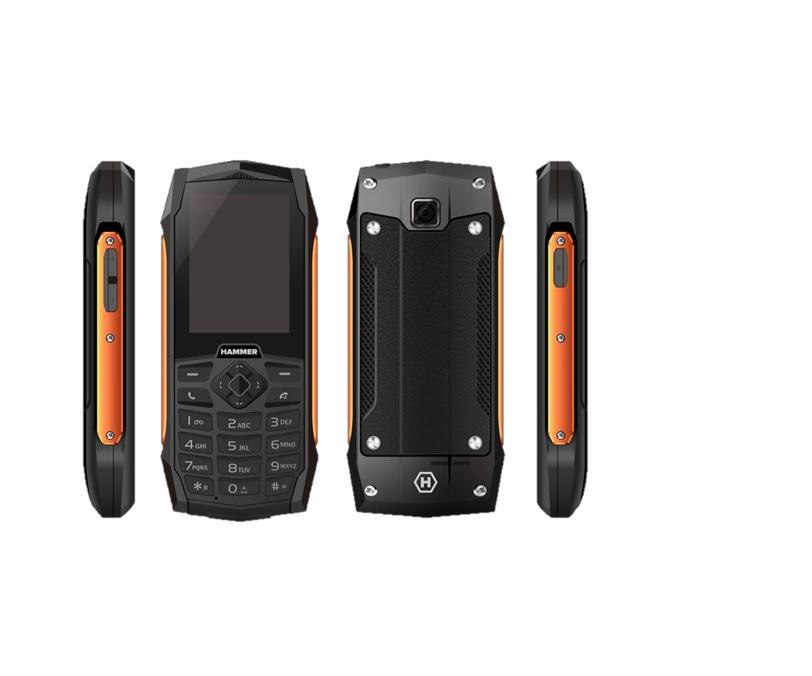MyPhone HAMMER 3 orange Mobilais Telefons