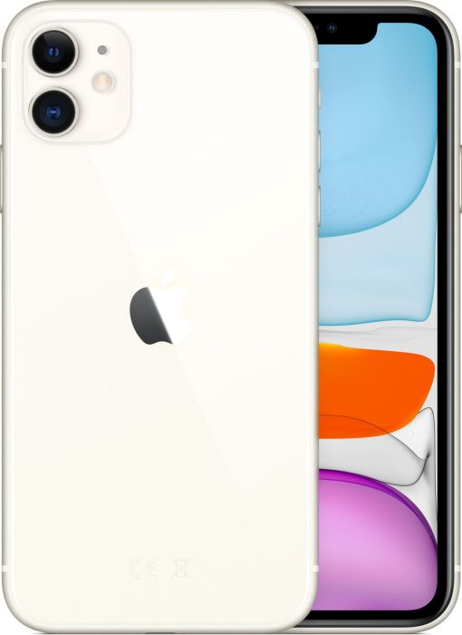 Apple GSM Apple iPhone 11 4G 128GB white Mobilais Telefons