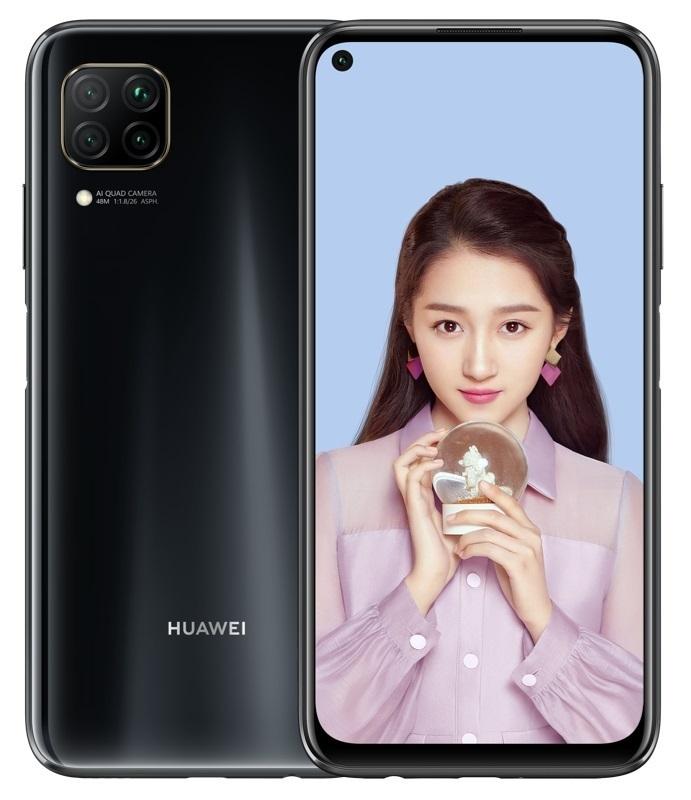 Huawei P40 Lite 6GB/128GB Black Mobilais Telefons