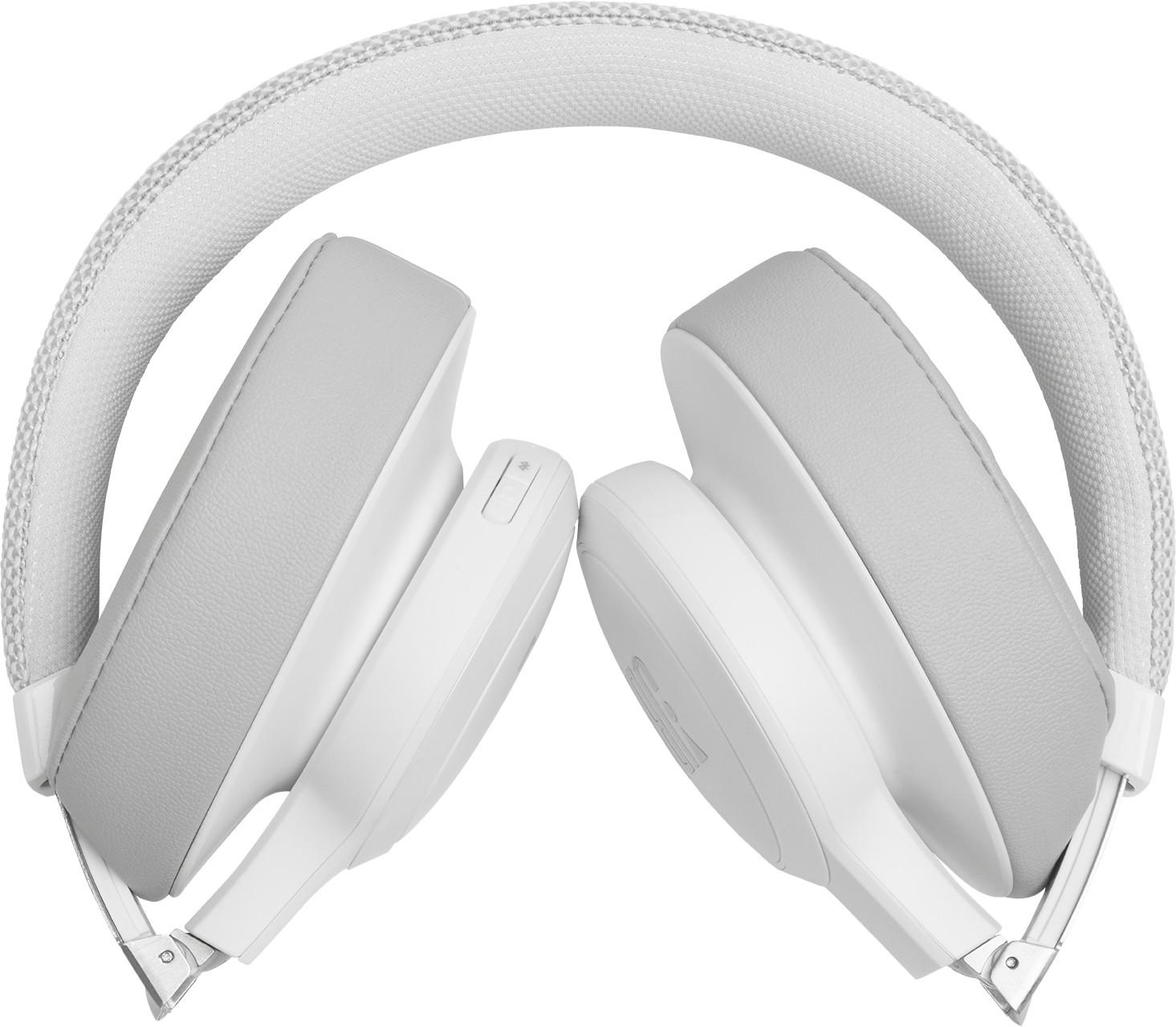 JBL bezvadu austiņas + mikrofons Live 500BT white austiņas