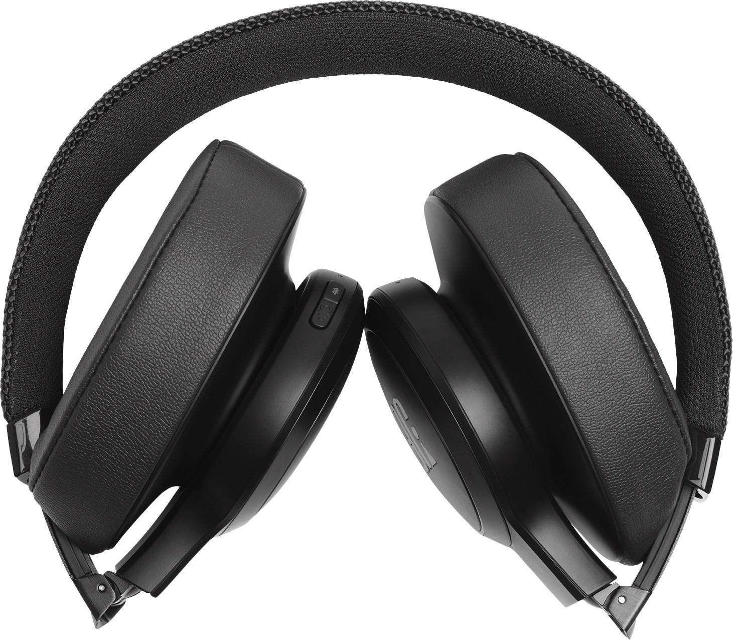 JBL bezvadu austiņas + mikrofons Live 500BT black austiņas