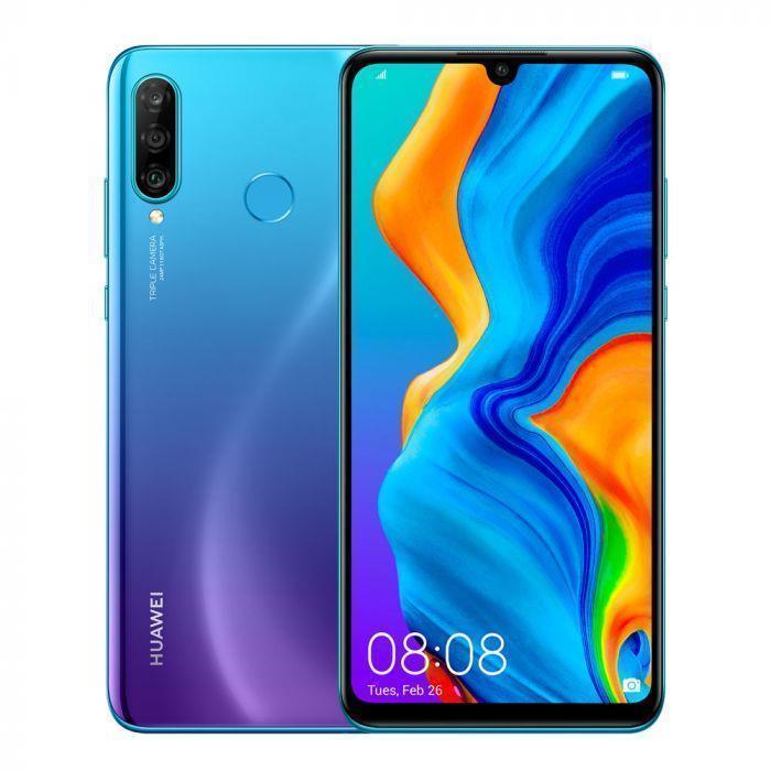 Huawei P30 Lite 4GB/64GB Peacock blue Mobilais Telefons