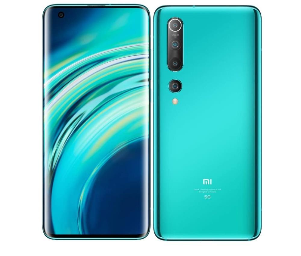 Xiaomi Mi 10 8GB/256GB Coral Green Mobilais Telefons