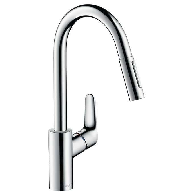 Hansgrohe Focus kitchen mixer standing chrome (31815000) jaucējkrāns