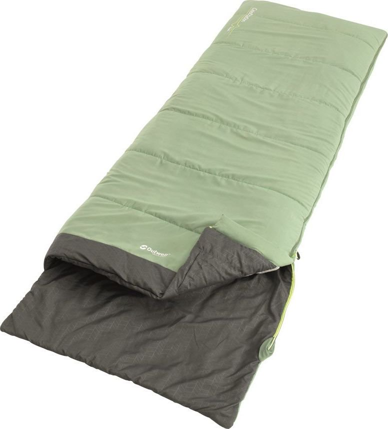 Outwell Celebration, Sleeping bag, 215 x 80 cm, 12/8/-4 °C, Green guļammaiss