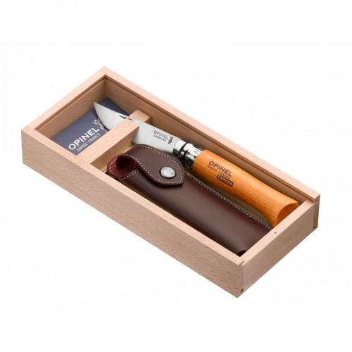 NAZIS OPINEL CLASSIC NR 8 CARBON GIFT BOX Speciālie produkti