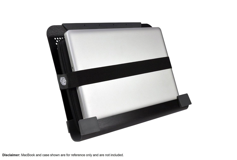 Cooler Master NotePal U3 Plus Cooling Pad R9-NBC-U3PK-GP portatīvā datora dzesētājs, paliknis