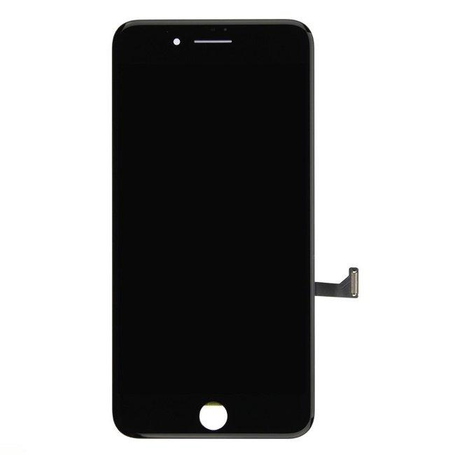 HQ A+ Analogs LCD Skarienjūtīgais Displejs priekš Apple iPhone 8 Plus Pilns modulis Melns aksesuārs mobilajiem telefoniem