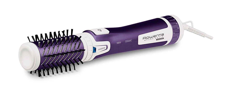 ROWENTA rotējošs matu veidotājs Brush Activ Volume&Shine, 1000W, balta/violeta CF9530 Matu veidotājs