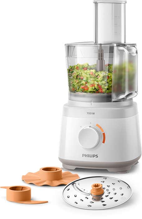 PHILIPS Daily Collection kompaktais virtuves kombains 700 W HR7310/00 Virtuves kombains