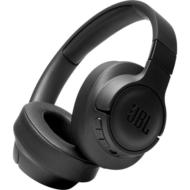 JBL T750BT NC (Over-Ear, Active Noise Cancelling, Multi-point connection, Black) austiņas