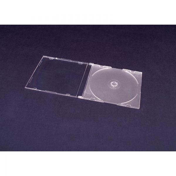 ESPERANZA Box with Matt Clear Tray for 1 CD/DVD ( 200 Pcs. PACK) matricas