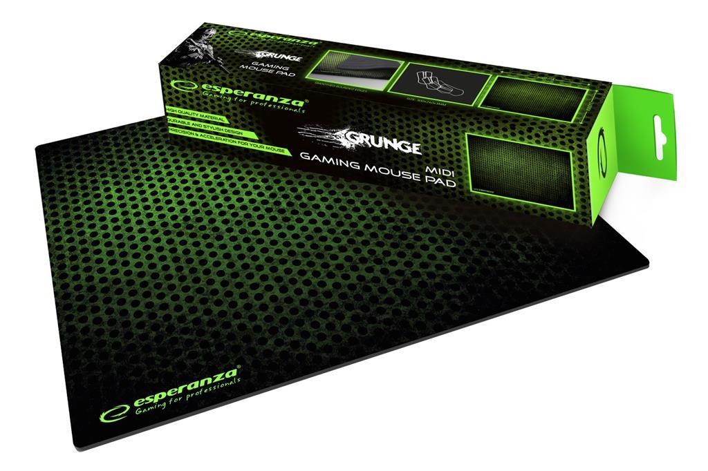 Esperanza EGP102G GAMING Mouse Pad  |300 x 240 x 3 mm peles paliknis