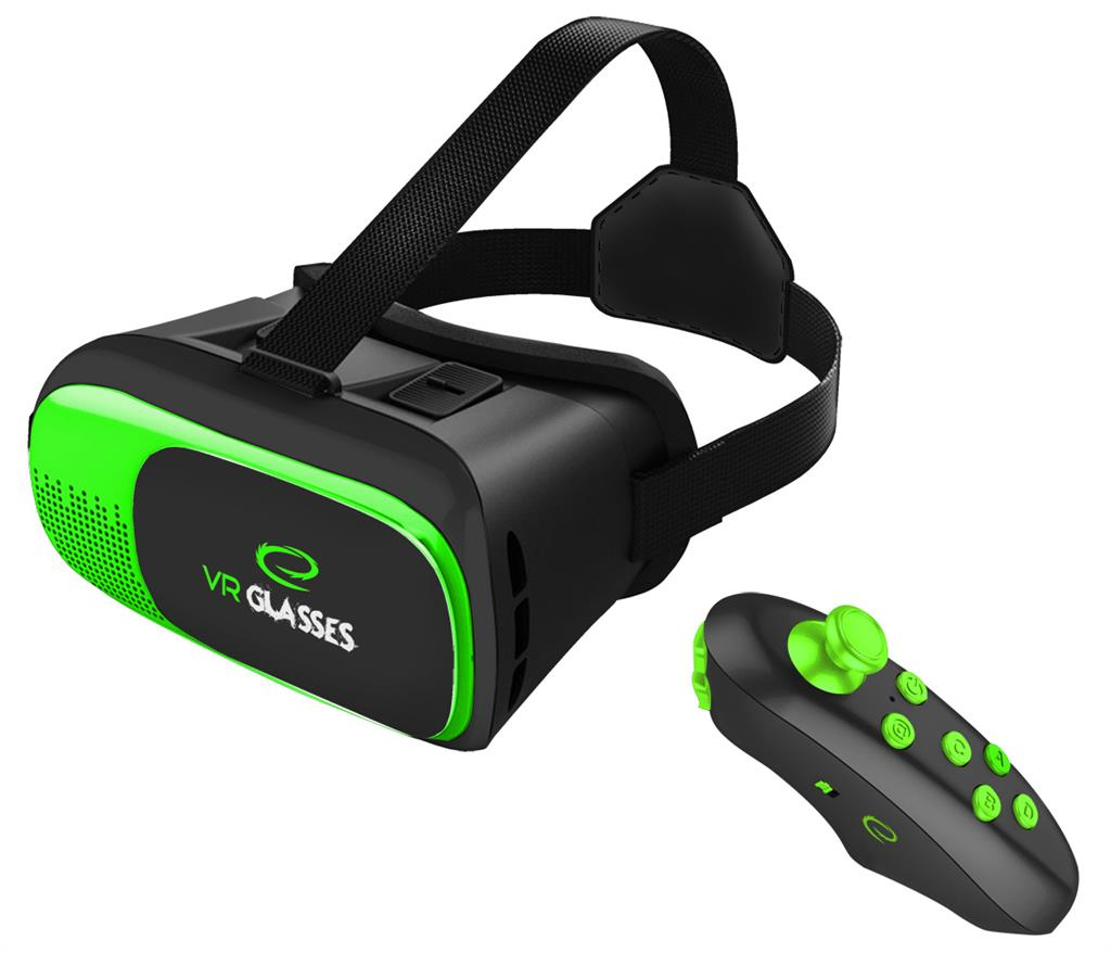 Esperanza EGV300R GLASSES 3D VR VIRTUAL REALITY 360degress for smartphones3.5-6'