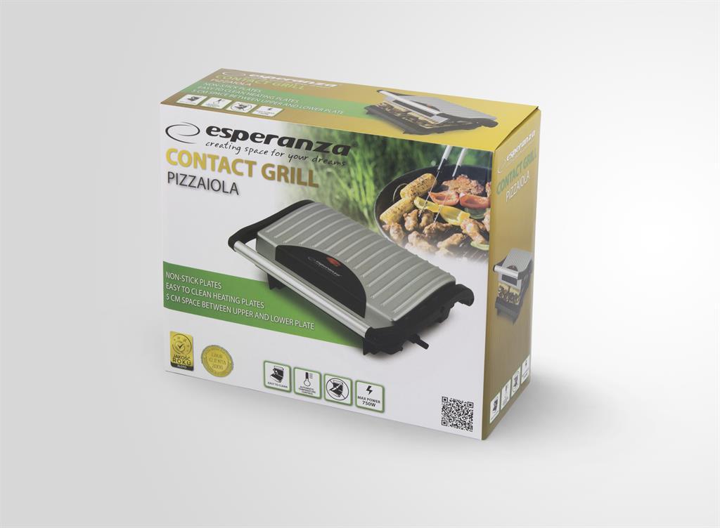 Esperanza EKG005 Electric Grill PIZZAIOLA Galda Grils