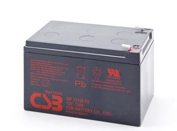 CSB battery GP12120F2 12V/12Ah UPS aksesuāri