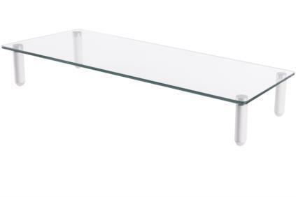 Digitus Universal Glass Monitor Riser, 56x21cm, max. load 20kg