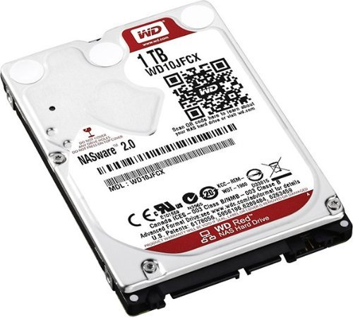 WD Red 1TB 6Gb/s SATA HDD cietais disks