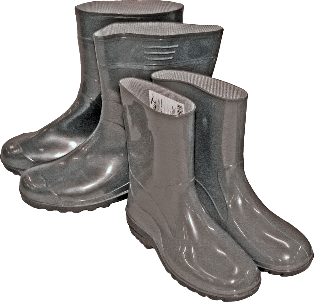 Zābaki PVC 28cm 42 izm. 4770805300426 Gumijas apavi