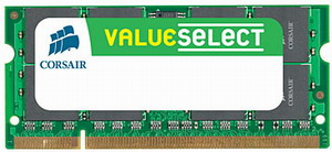 CORSAIR DDR2 667 MHz 2GB 200 SODIMM operatīvā atmiņa