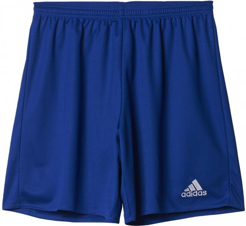 Adidas Spodenki pilkarskie Parma 16 niebieskie r. S (AJ5882) AJ5882*S