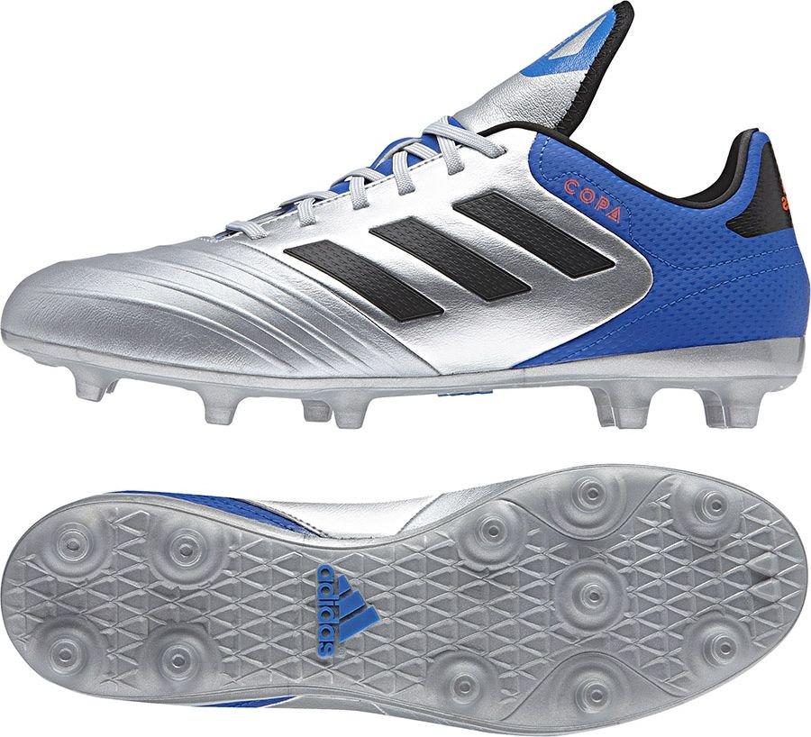 Adidas Buty pilkarskie Kaiser 5 Goal czarne r. 45 1/3 (677358) 677358
