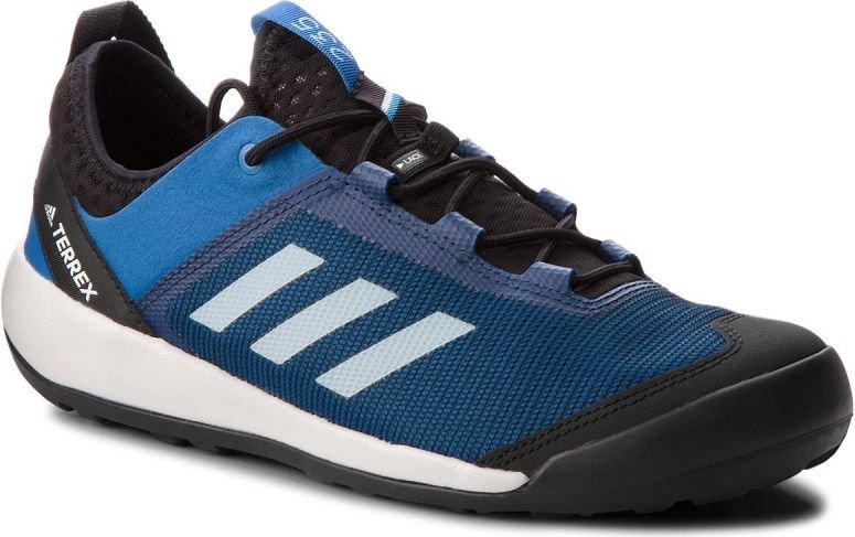 Adidas Buty meskie Terrex Swift Solo niebieskie r. 44 (AC7886) AC7886 Tūrisma apavi