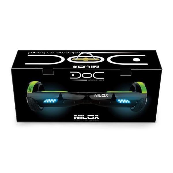 NILOX DOC Hoverboard 6.5 black Elektriskie skuteri un līdzsvara dēļi