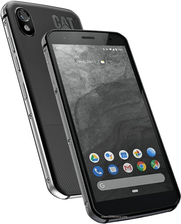 CAT S52 Dual SIM Black LV LT EE 3855 Mobilais Telefons