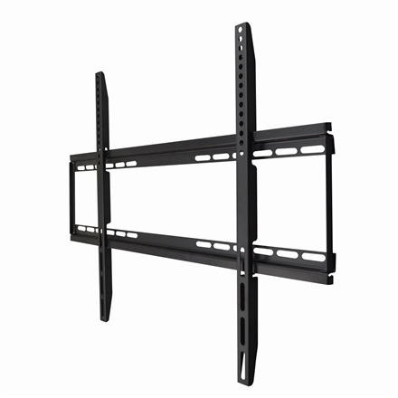 Gembird Wall mount, WM-75F-01, 40-75 , Fixed, Maximum weight (capacity) 50 kg, VESA max 600x400 mm, Black TV stiprinājums