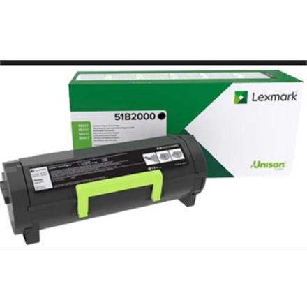 Lexmark MS/MX 3/4/5/617 51B2000 Monochrome Laser, Black