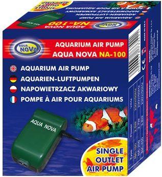 AQUA NOVA Napowietrzacz Na-100 130l/h 24661 akvārija filtrs