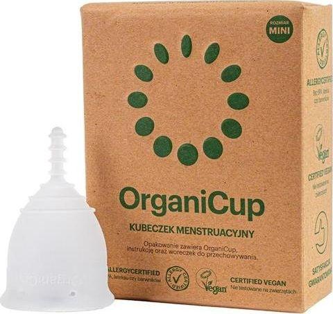 Organicup The Menstrual Cup menstrual cup Size Mini kosmētika ķermenim