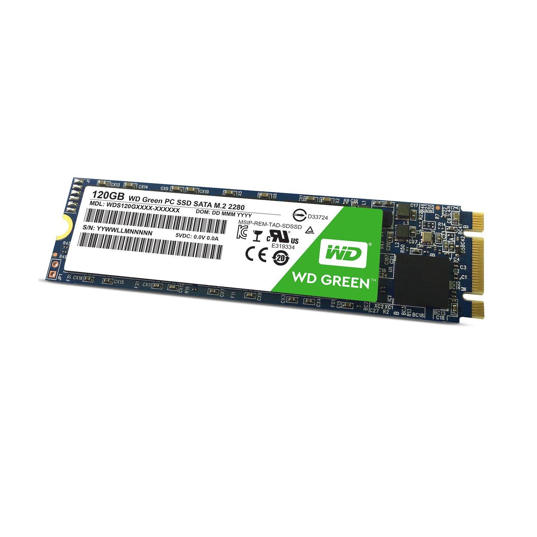 WD Green SSD M.2 SATA 120GB SATA/600 SSD disks