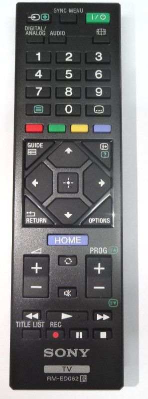 Sony Remote Commander (RM-ED062) pults