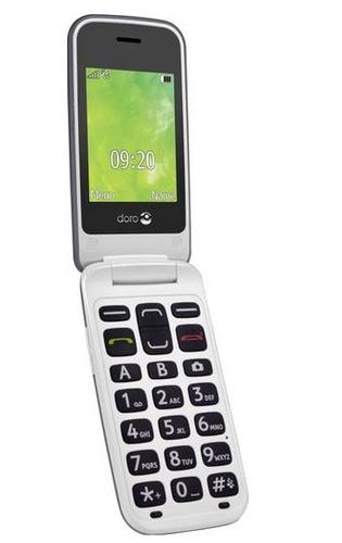Doro 2424 champagne-silver Mobilais Telefons