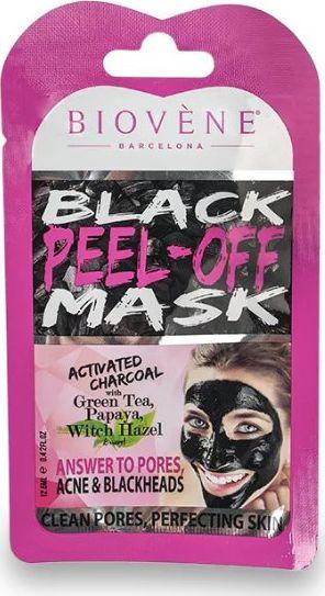 Biovene Black Peel-Off Mask cleansing face mask 12.5ml