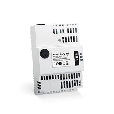 POWER SUPPLY 12VDC 4A DIN/APS-412 SATEL drošības sistēma