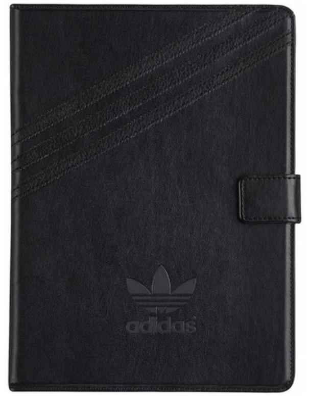 Adidas Folio Series Planšetdatoru Maks Priekš Apple iPad Air / Air 2 / iPad 9.7 (2017) Melns planšetdatora soma