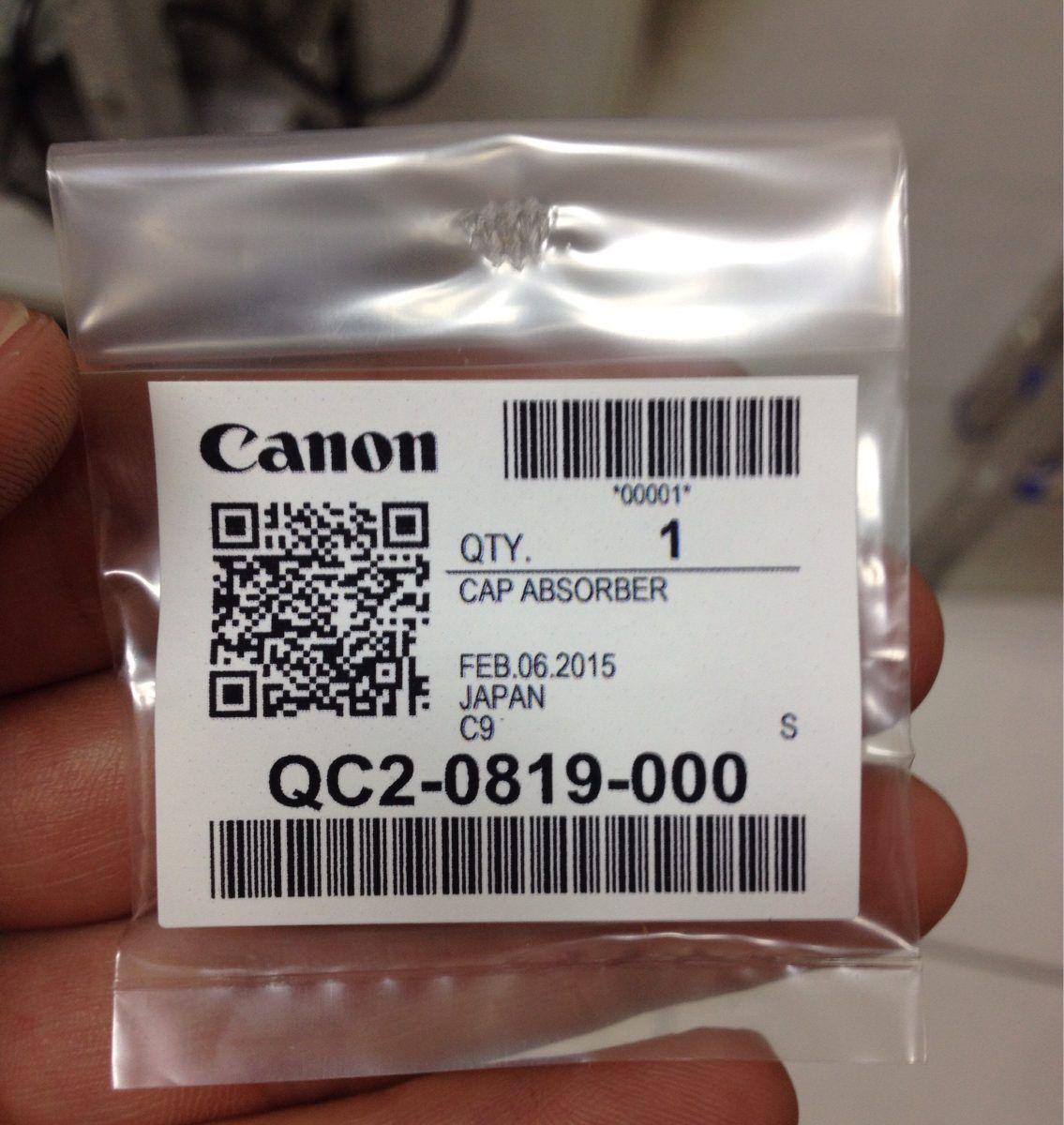 Canon Cap Absorber tīrīšanas līdzeklis