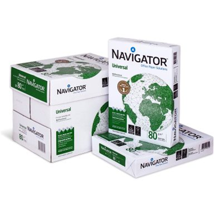 Navigator Paper 500 pages Copy and Printer paper, A4, 80 g/m², White papīrs