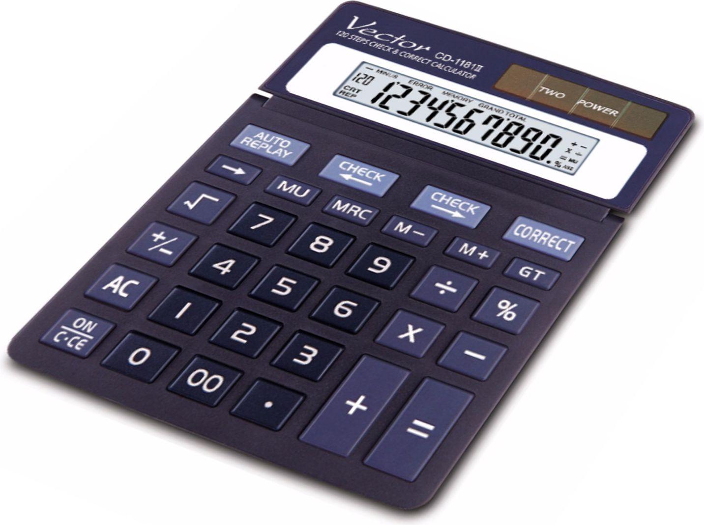 VECTOR KAV CD-1181II kalkulators