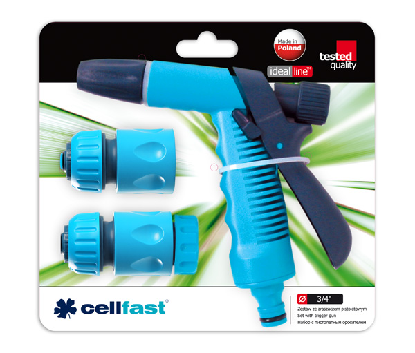 Cellfast Spray gun set 1/2